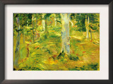 Forest Poster by Berthe Morisot