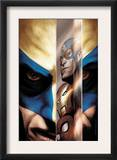 Wolverine 40 Cover: Wolverine, Captain America, Iron Man and Spider-Man Posters by Javier Saltares