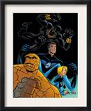 Fantastic Four Tales 1 Group: Black Panther, Mr. Fantastic, Invisible Woman and Thing Print by Michael OHare