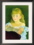 Portrait of Lina Campineanu Art by Édouard Manet