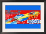 Round Rocket Prints