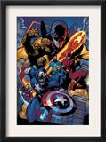 Marvel Knights Spider-Man 11 Group: Captain America Prints by Terry Dodson