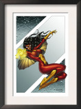 Giant-Size Spider-Woman 1 Cover: Spider Woman Posters by Andrea Di Vito