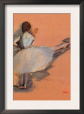 Ballet Dancer Poster by Edgar Degas