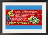 Robot Bulldozer - Six Features Art
