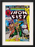 The Immortal Iron Fist: Marvel Premiere 16 Cover: Iron Fist and The Scythe Prints by Gil Kane