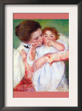 Anne Klein, From The Mother Embraces Art by Mary Cassatt