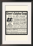 Glenn's Sulphur Soap Prints