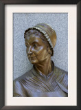 Abigail Adams Statue, Boston Women's Memorial Print