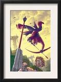 Hawkeye 6 Cover: Hawkeye Prints by Scott Kolins