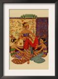Javanese Girls Examne Fabric Prints