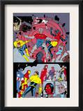 X-Statix 25 Group: Mr. Sensitive, Vivisector, X-Statix and Avengers Prints by Michael Allred