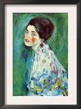 Portrait of a Lady Posters by Gustav Klimt