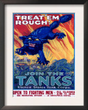 US Army Recruiting Poster 'Join the Tanks' Prints