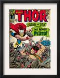 Marvel Comics Retro: The Mighty Thor Comic Book Cover 128, Hercules (aged) Prints