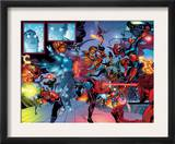 X-Men: Men & X-Men The End 2 Group: Cyclops and Captain Britain Prints by Sean Chen