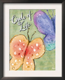 Circle of Life Butterfiles Prints by Flavia Weedn