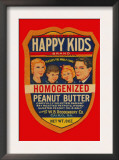Happy Kids Homogenized Peanut Butter Art