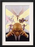 Mythos X-Men 1 Cover: Professor X, Angel, Beast, Iceman, Cyclops, Marvel Girl and X-Men Posters