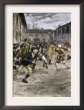 Capture of Fort Ticonderoga by Ethan Allen and the Green Mountain Boys, c.1775 Prints