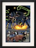 Ultimate X-Men 63 Group: Nightcrawler, Wolverine, Cyclops, Storm, Grey, Jean and X-Men Prints by Stuart Immonen