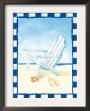 A Day at the Beach Art by Flavia Weedn