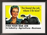 Find Your War Job Prints