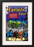 Fantastic Four 39 Cover: Dr. Doom Prints by Jack Kirby