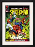Spectacular Spider-Man 114 Cover: Spider-Man, Captain Britain and Red Skull Art by Jon Haward