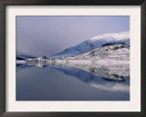 Loch Mullardoch, Glen Cannich, Winter in the Highlands, Scotland Upland Lochs, Snow, Lakes Posters by Niall Benvie