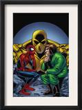 Marvel Adventures Spider-Man 11 Cover: Spider-Man and Mad Thinker Print by Mike Norton