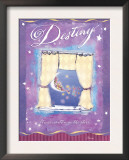 Destiny Written in the Stars Print by Flavia Weedn