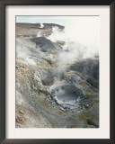 Geysers and Boiling Mud, Sol De Mamama Geyser, Altiplano, Bolivia Posters by Doug Allan