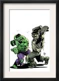 Incredibile Hulk 78 Cover: Hulk Print by Lee Weeks