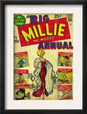 Marvel Comics Retro: Millie the Model Comic Book Cover 1, the Big Annual (aged) Poster