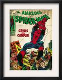 Marvel Comics Retro: The Amazing Spider-Man Comic Book Cover 68, Crisis on Campus (aged) Prints