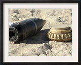 A Static Display of a Converted Ordnance Shell and a Simple Mine Posters by  Stocktrek Images
