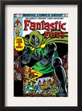 Fantastic Four 247 Cover: Dr. Doom, Mr. Fantastic, Invisible Woman, Human Torch and Thing Posters by John Byrne