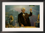 Thomas Alva Edison Posters