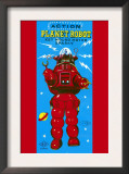 Action Planet Robot Prints