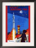 Rocket Launching Pad Art