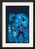 Friendly Neighborhood Spider-Man 2 Cover: Spider-Man and Black Panther Fighting Prints by Mike Wieringo