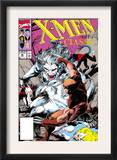 X-Men Classic 46 Cover: Wendigo, Wolverine and Nightcrawler Prints by Steve Lightle