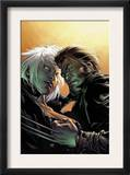 Ultimate X-Men 59 Cover: Storm and Wolverine Art by Stuart Immonen