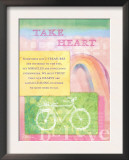 Take Heart Print by Flavia Weedn