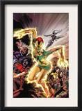 Uncanny X-Men 457 Cover: Phoenix, X-23, Psylocke, Nightcrawler and Storm Charging Prints