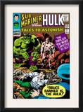 Tales to Astonish 77 Cover: Hulk, Banner and Bruce Prints by Vince Colletta