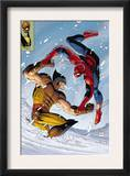 What If Spider-Man Vs. Wolverine 1 Cover: Spider-Man and Wolverine Posters by John Romita Jr.