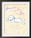 Someone New to Love Art by Flavia Weedn