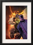 Fantastic Four: House Of M 3 Cover: Dr. Doom, Magneto, Thing and Fearsome Four Posters by Scot Eaton